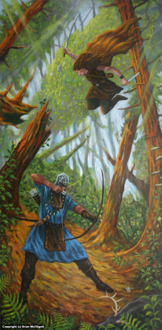 Poacher Artwork by Brian McElligott