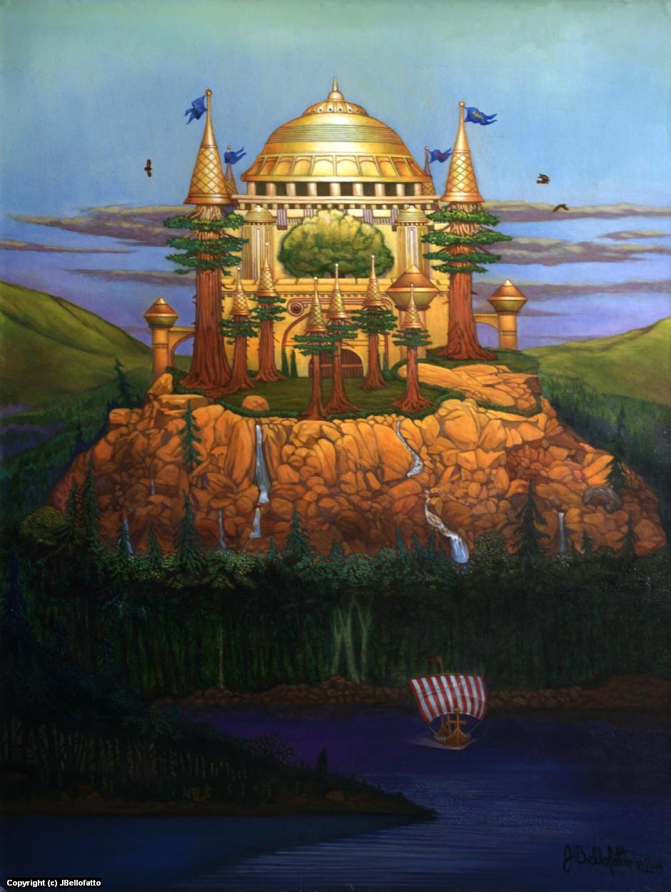 Valhalla Artwork by Joseph Bellofatto