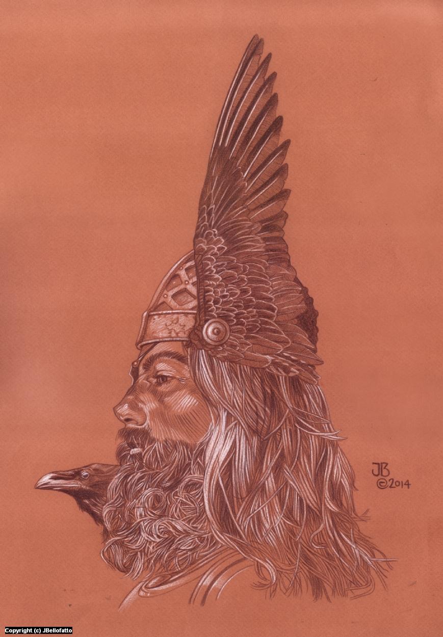 Odin Artwork by Joseph Bellofatto
