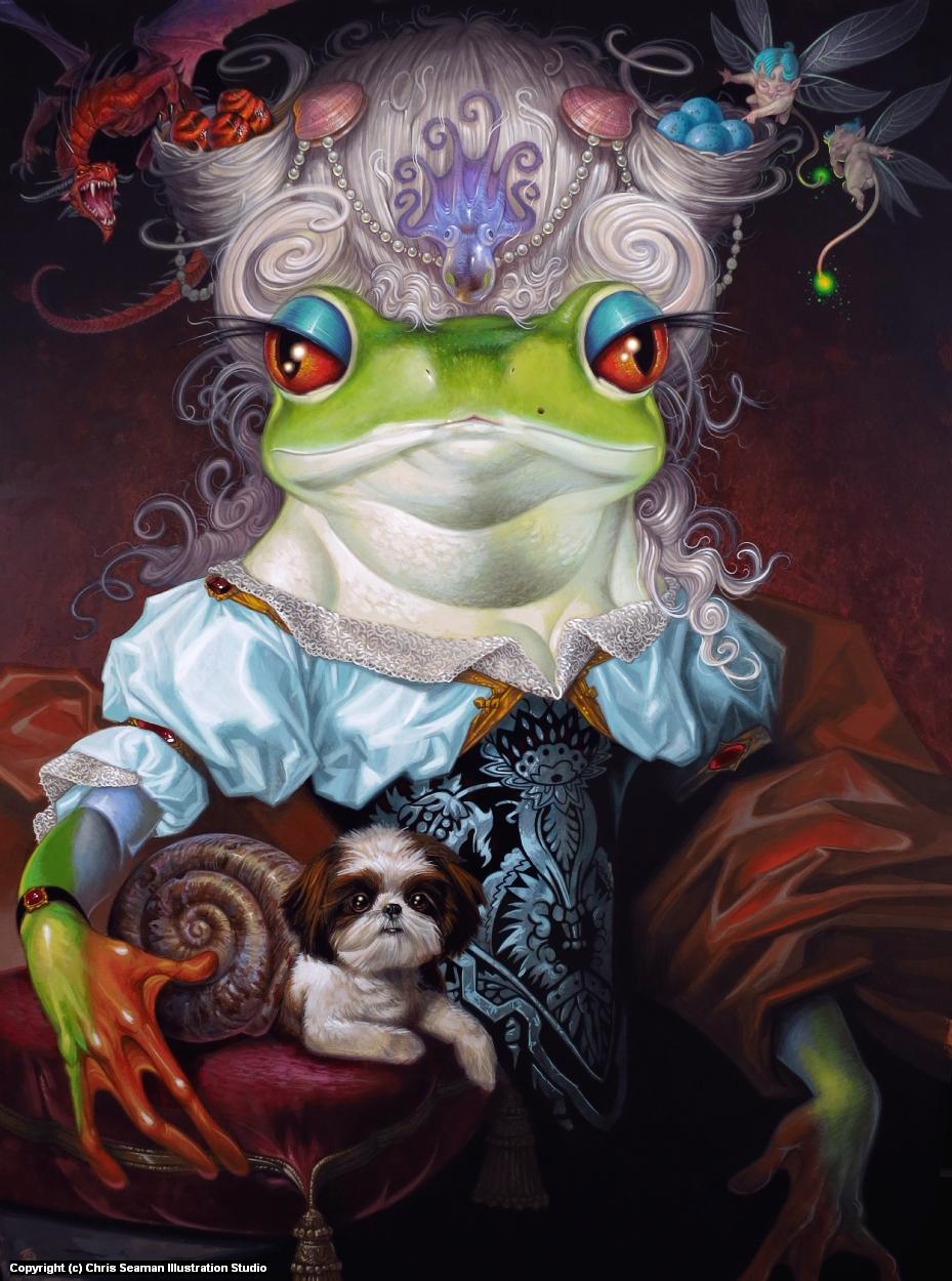 Her Royal Highness Artwork by Chris Seaman