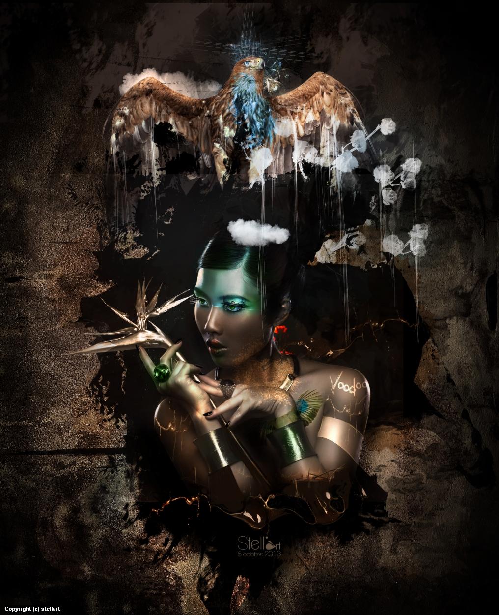 Voodoo Artwork by Estelle Chomienne