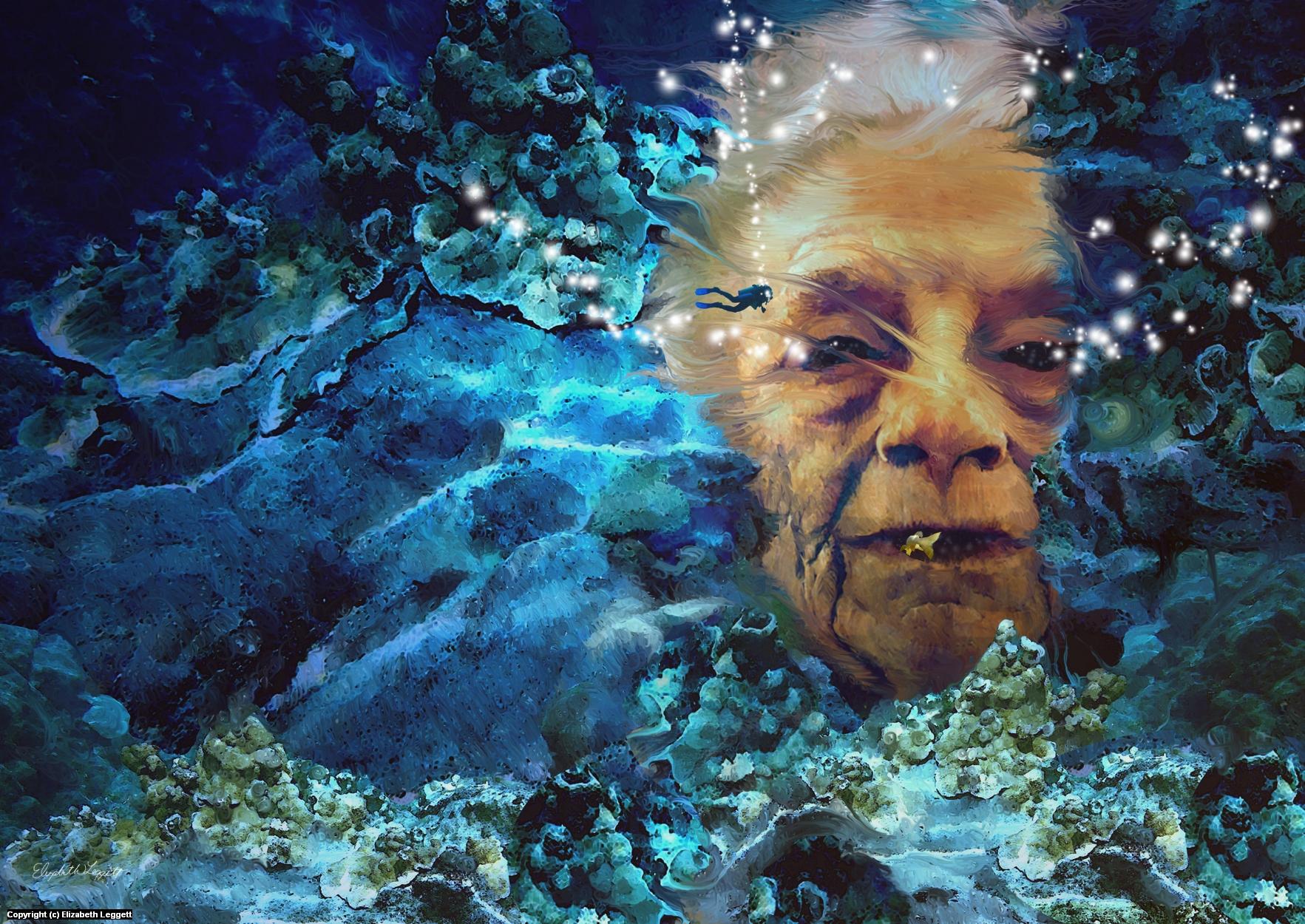 Mother Ocean Six Artwork by Elizabeth Leggett