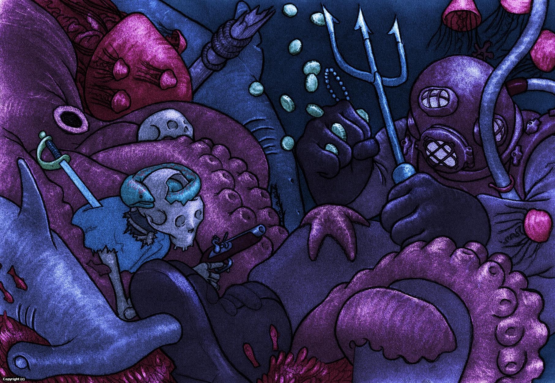 The Depths Artwork by Matthew Filipkowski