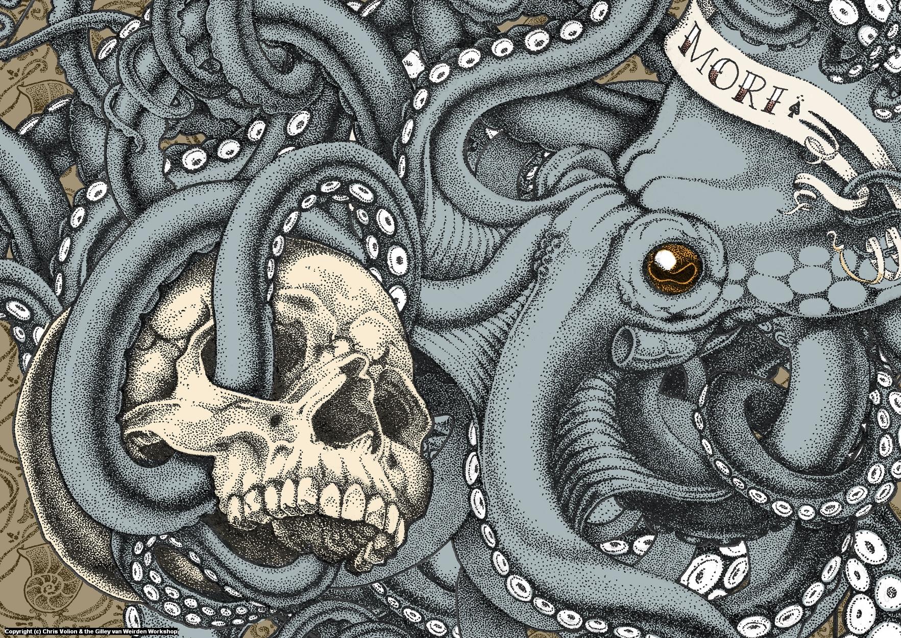 Tempus Fugit (Memento Mori) Artwork by Chris Volion