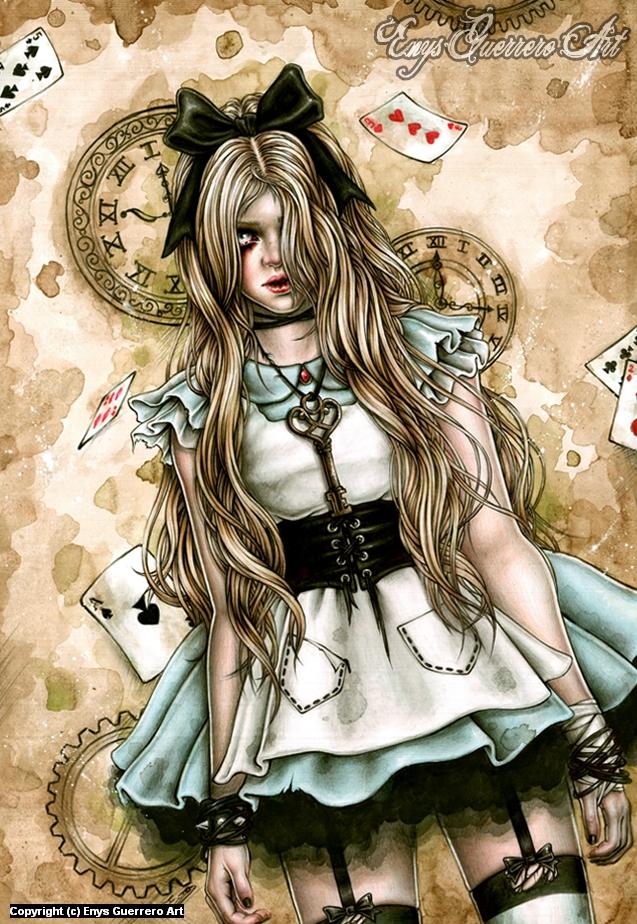 My Wonderland Artwork by Enys Guerrero