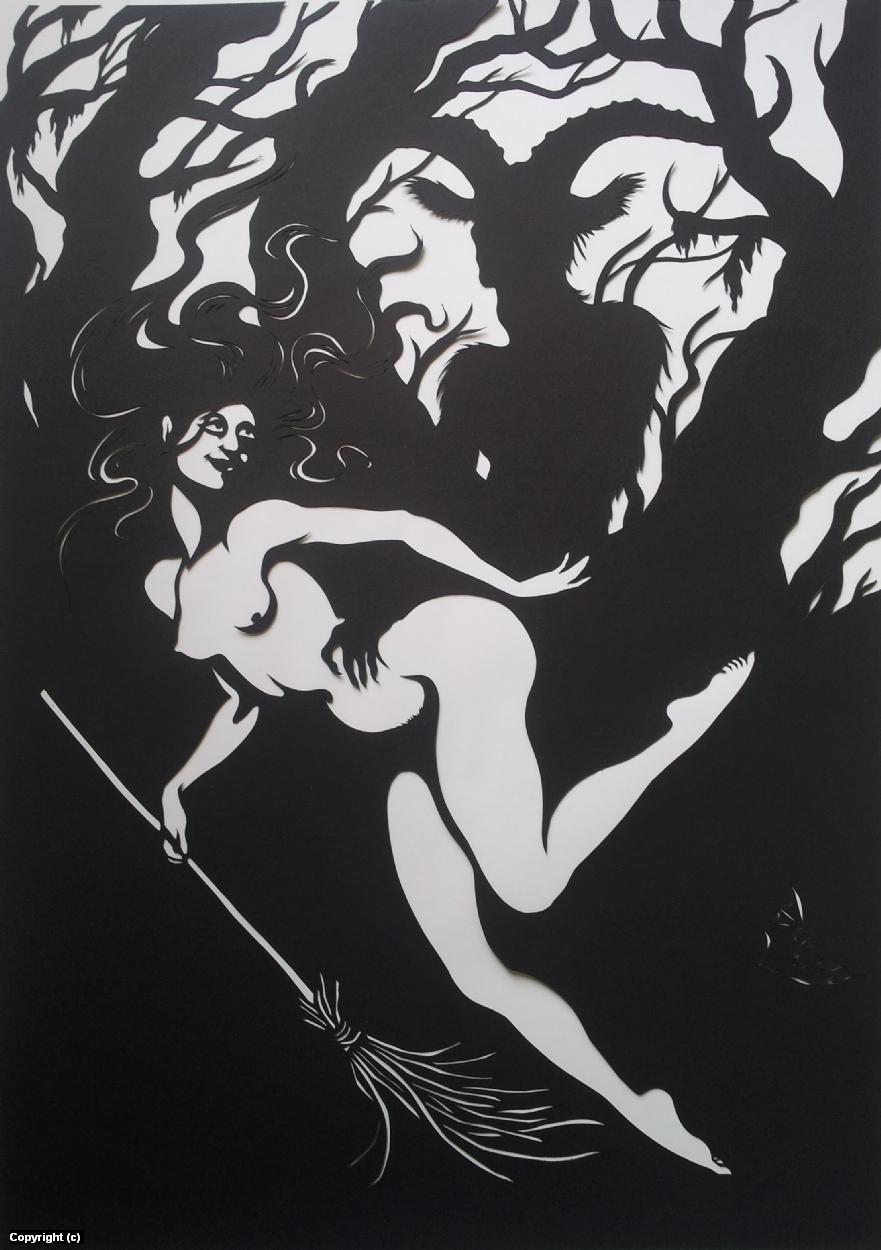 Walpurgisnacht Artwork by Gunilla Kral-Drofenik