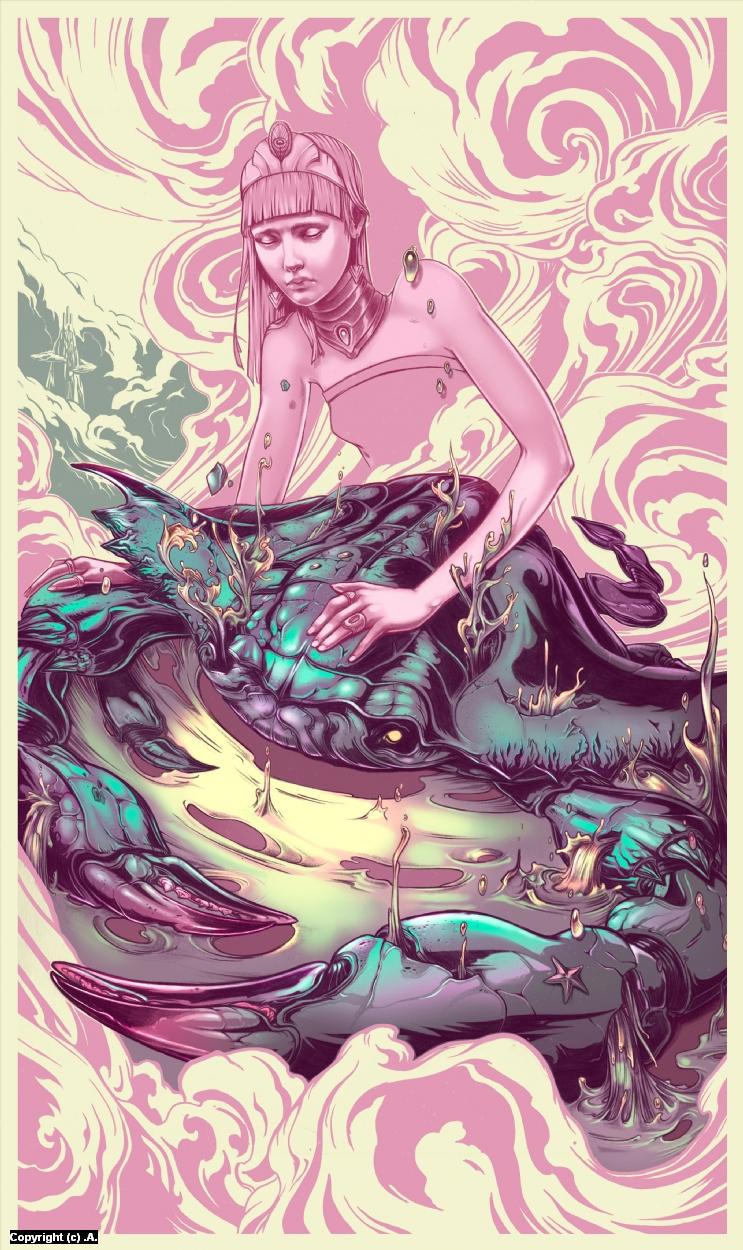 Ascension  Artwork by Alex Dos Diaz