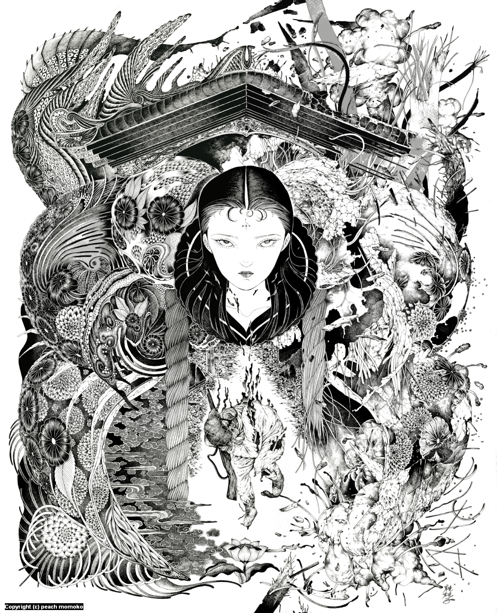 Hakai & Saisei Artwork by MoMoKo Peach