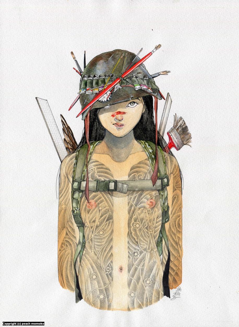 kaigun Artwork by MoMoKo Peach