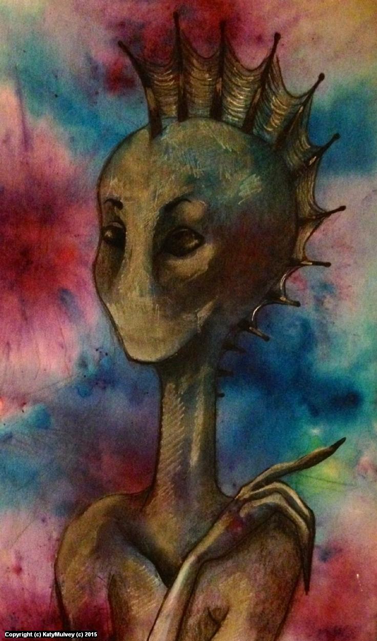Silenced  Artwork by Katy Mulvey