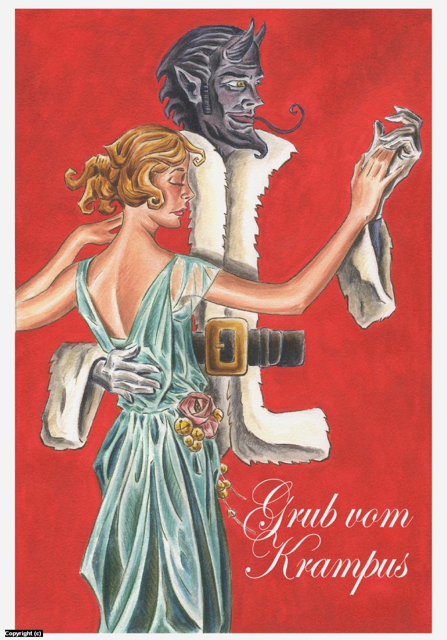 Grub Vom Krampus Artwork by Paul Demakes