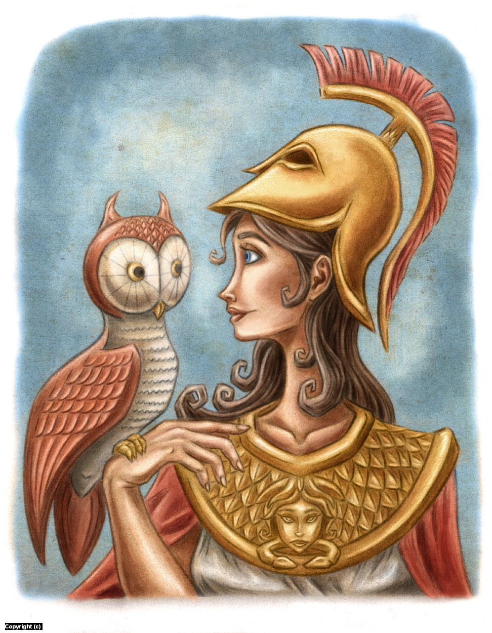 Athena  Artwork by Paul Demakes