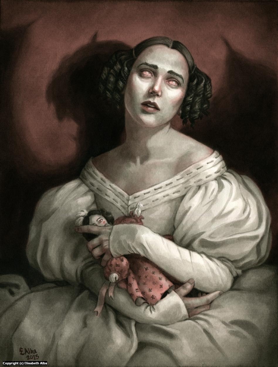 The Sister Artwork by Elisabeth Alba