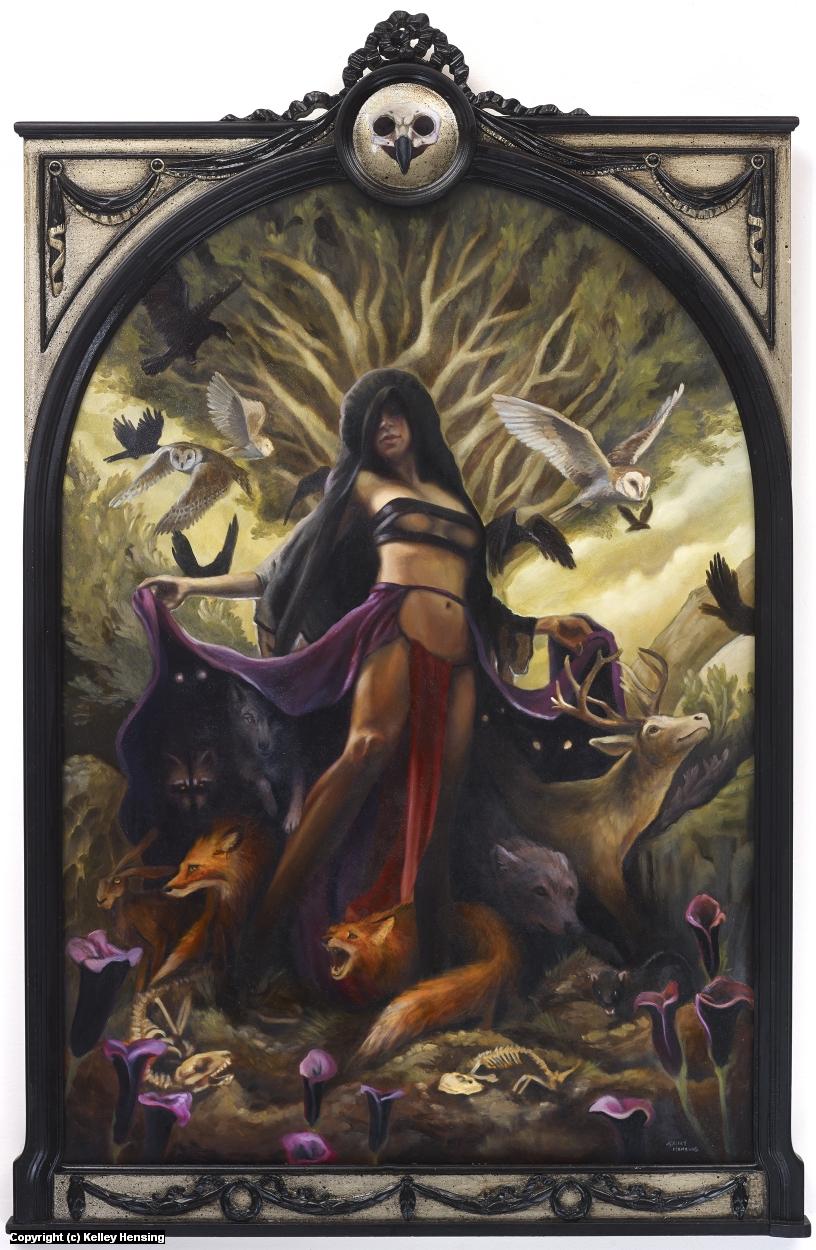 Revenge of the Wild Artwork by Kelley Hensing