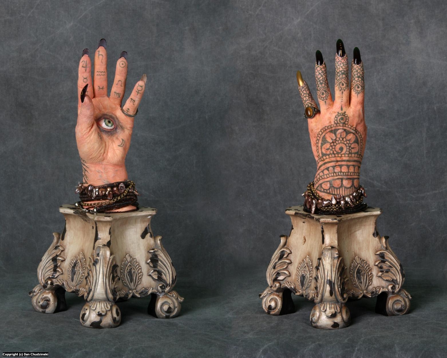 The Eternal Gaze of Madame Etherea Artwork by Dan Chudzinski