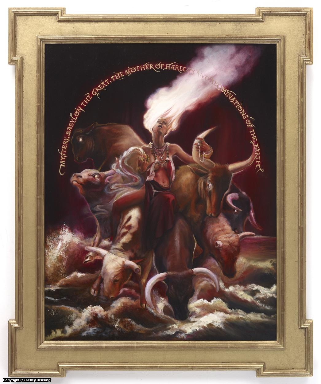 The Great Harlot Artwork by Kelley Hensing