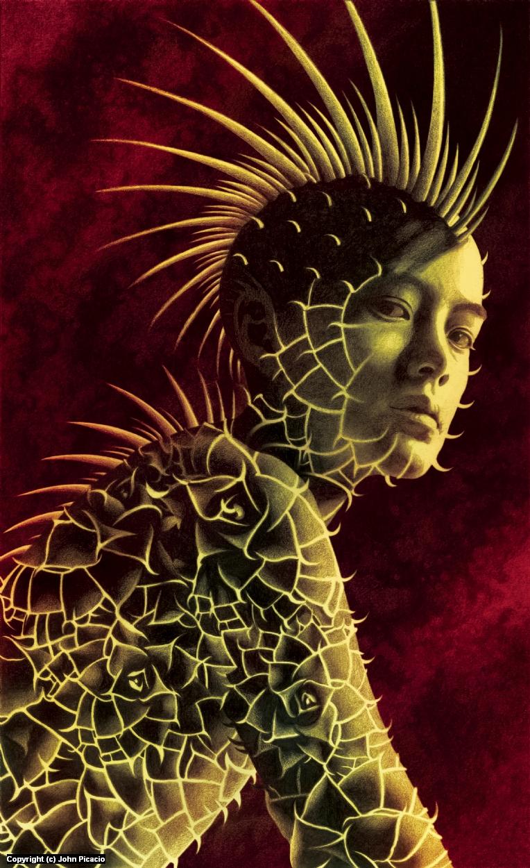 El Nopal Artwork by John Picacio