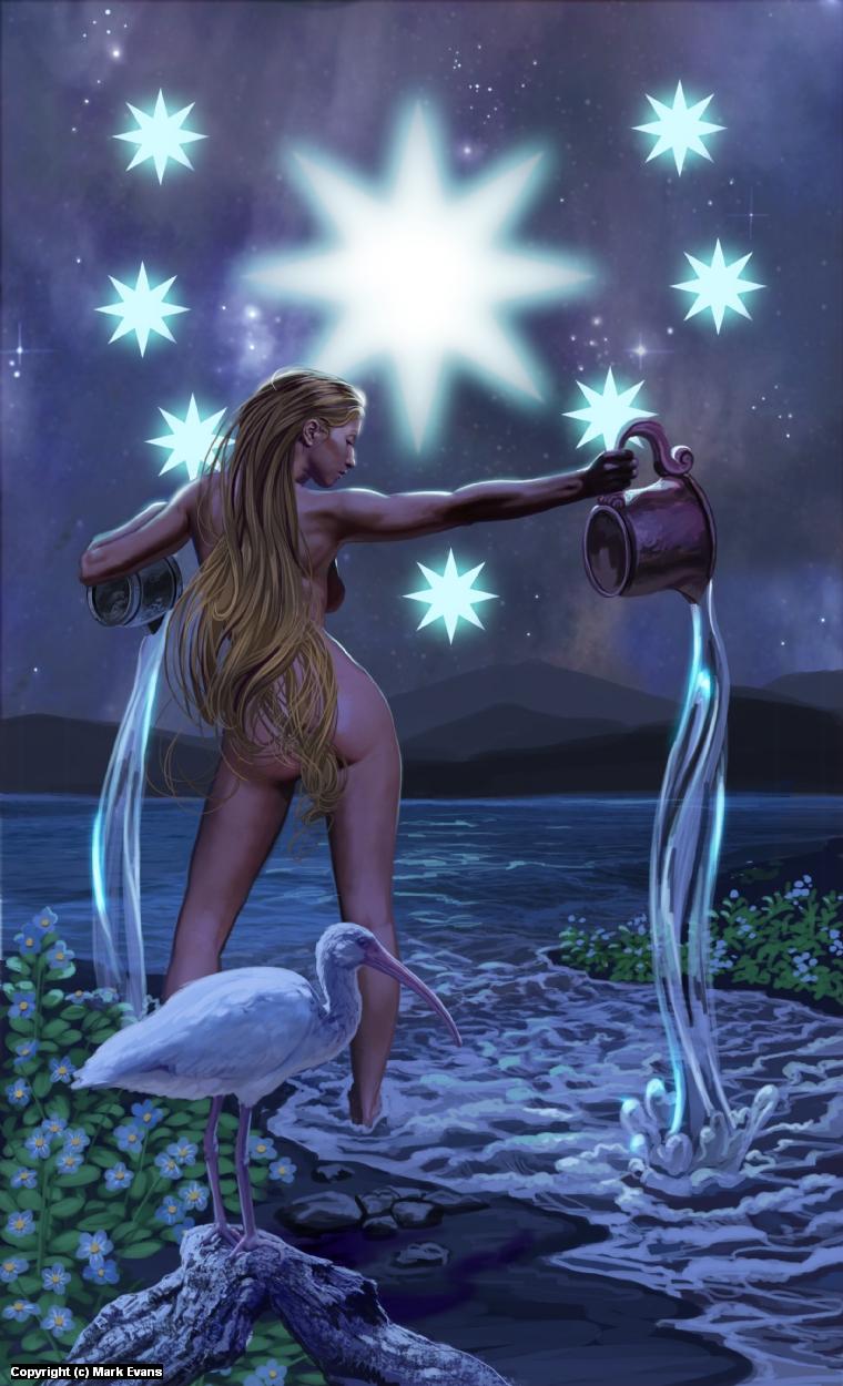 Star Artwork by Mark Evans