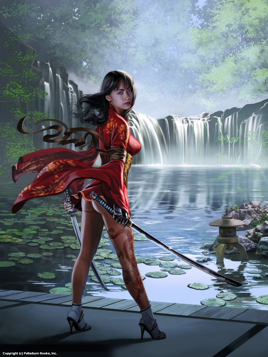 Crimson Waters Artwork by Mark Evans