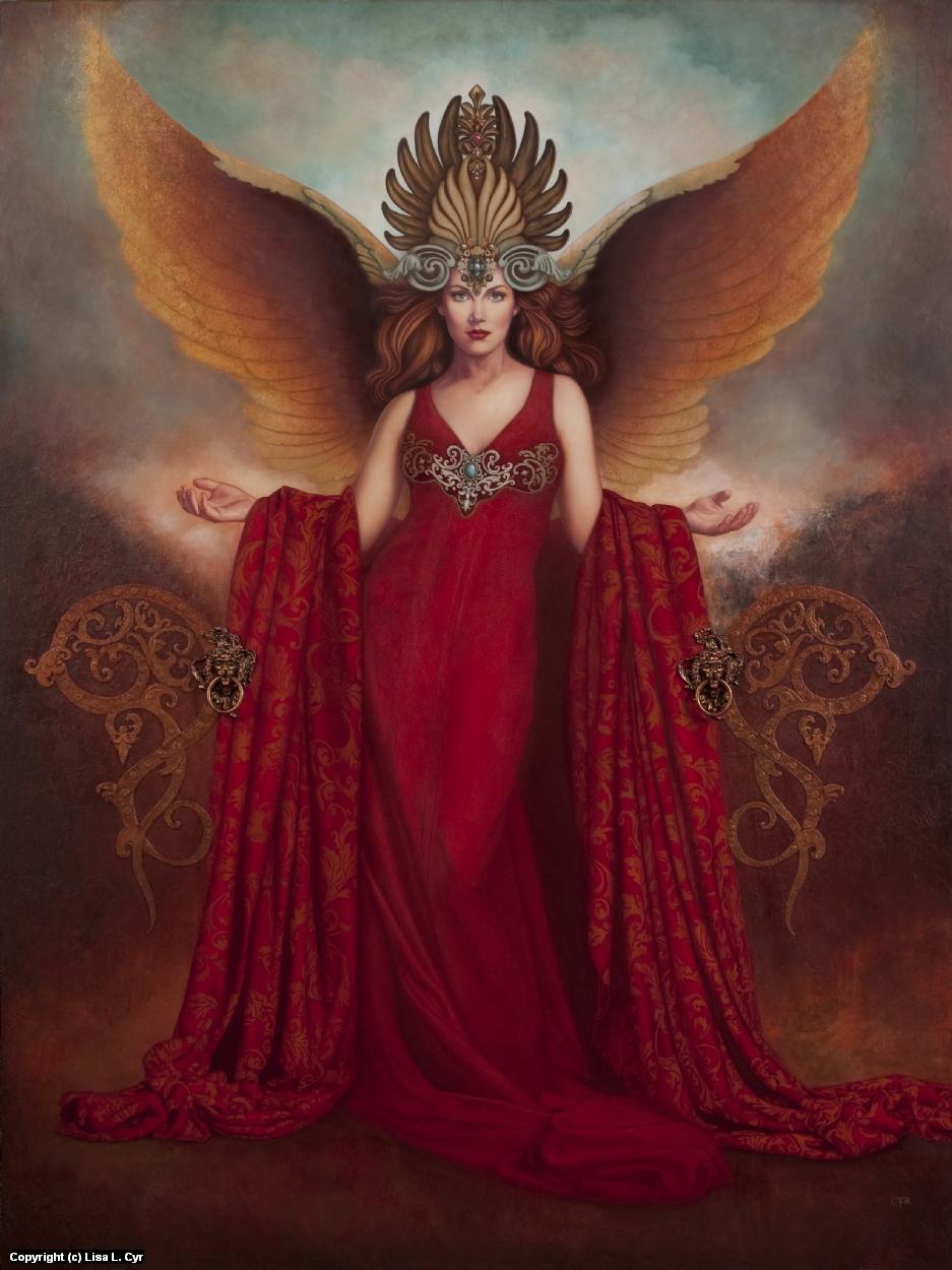 The Messenger Artwork by Lisa L. Cyr