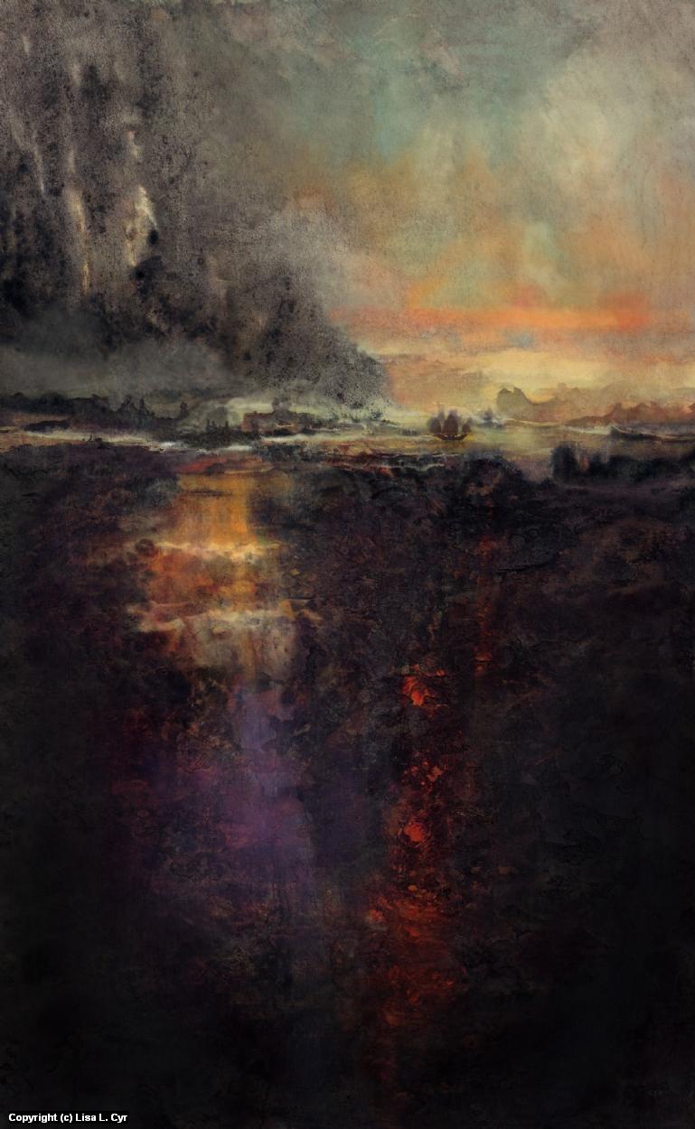 The Night Fury Artwork by Lisa L. Cyr
