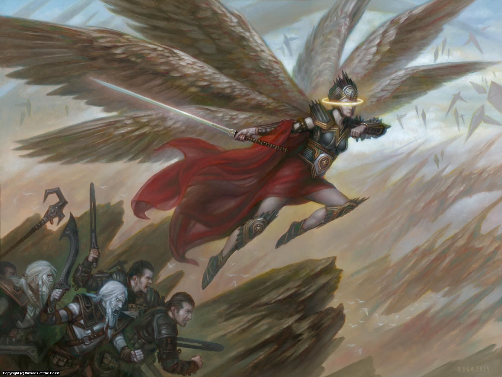 Angelic Captain Artwork by Volkan Baga