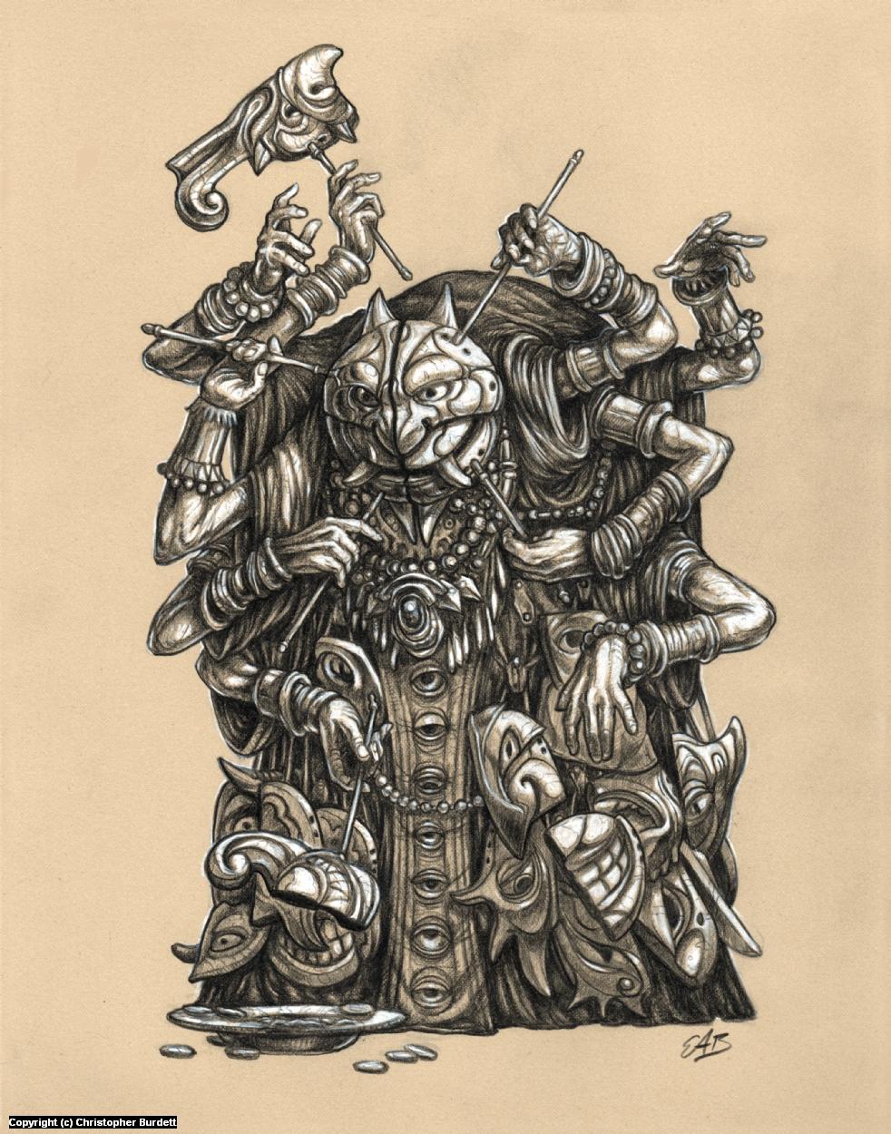 Dight-Kin Artwork by Christopher Burdett