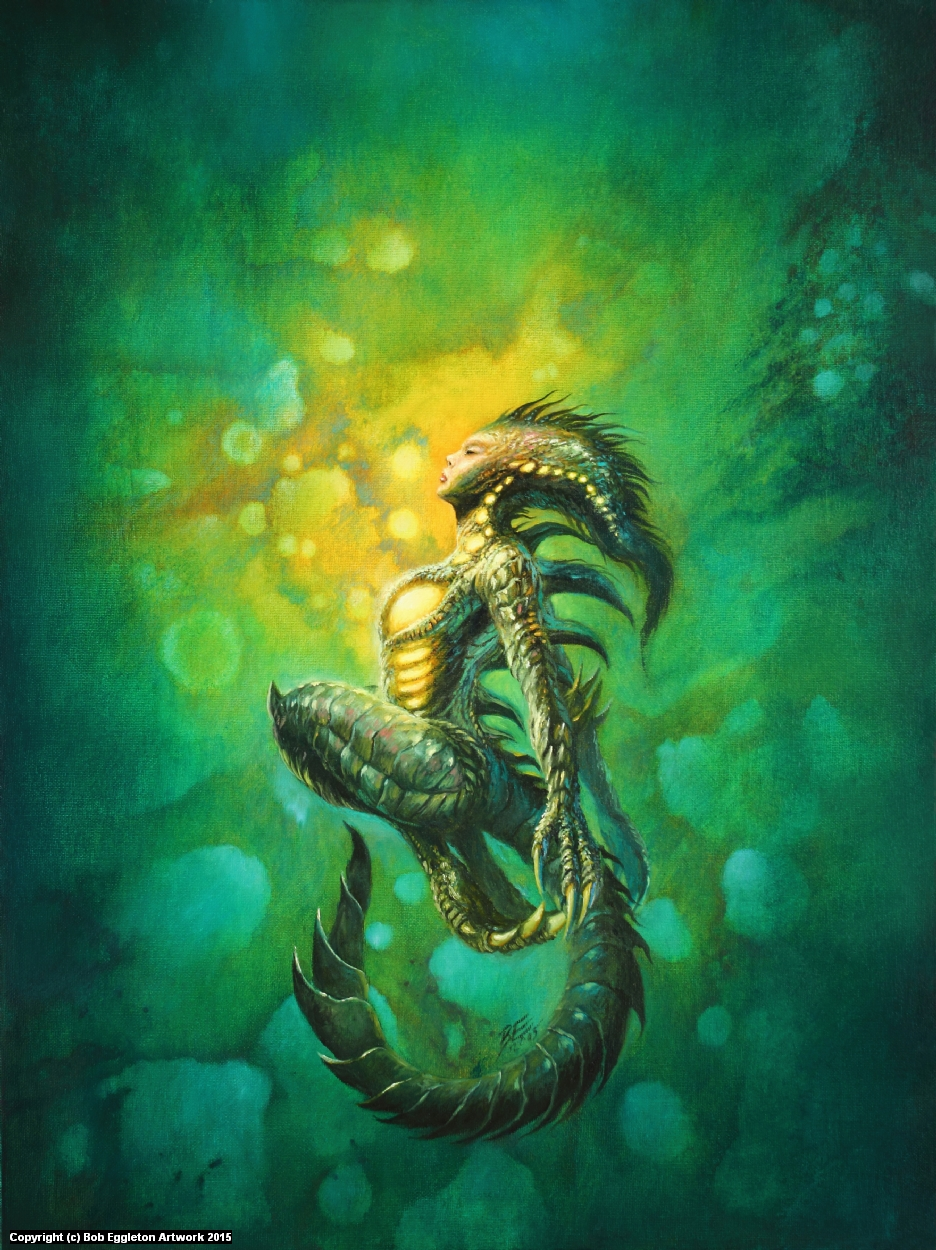 PROJECT NEMESIS - ISSUE #1 Artwork by Bob Eggleton