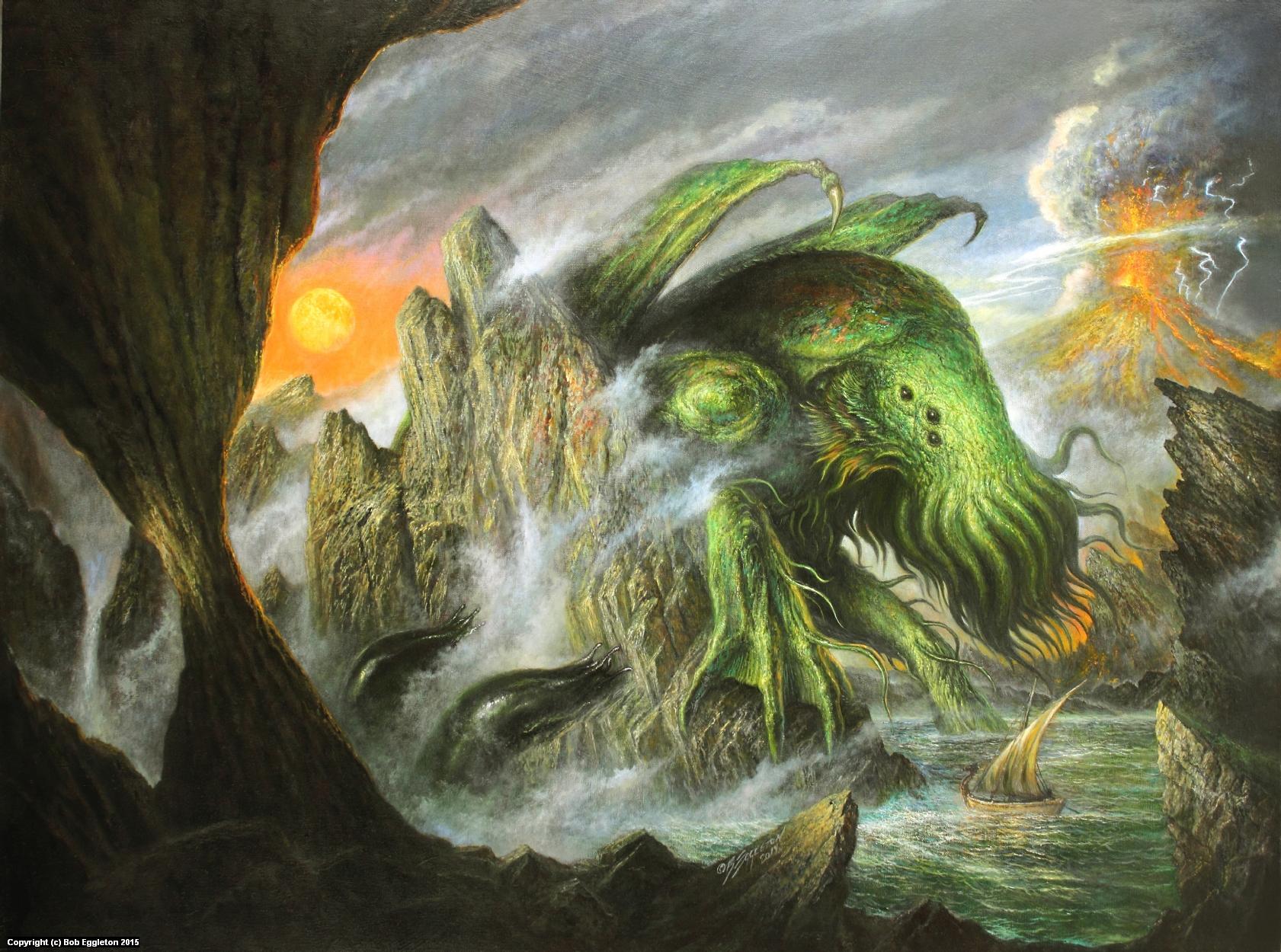 TALES OF THE PRIMAL LAND Artwork by Bob Eggleton