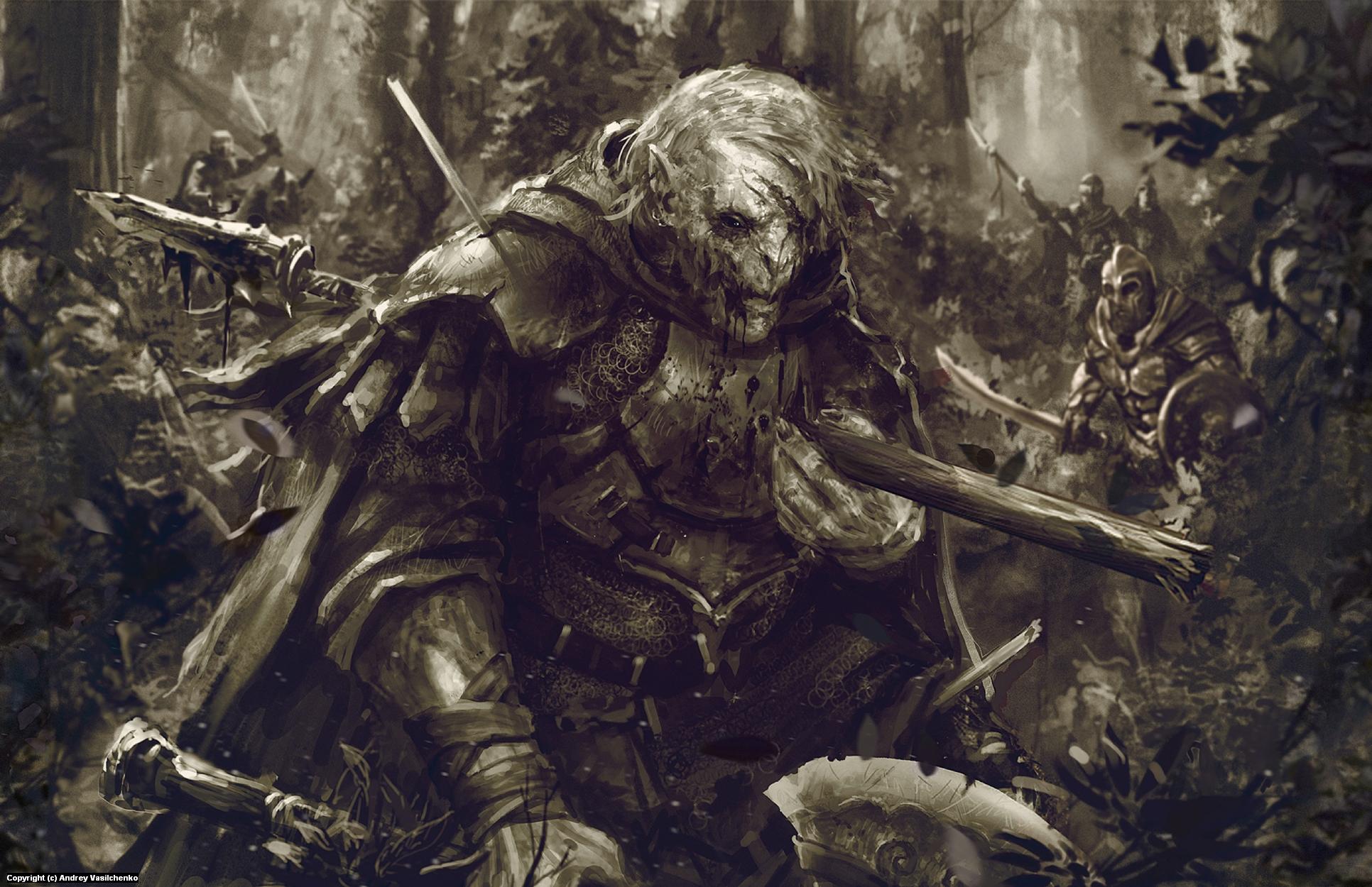 The Hunt Artwork by Andrey Vasilchenko