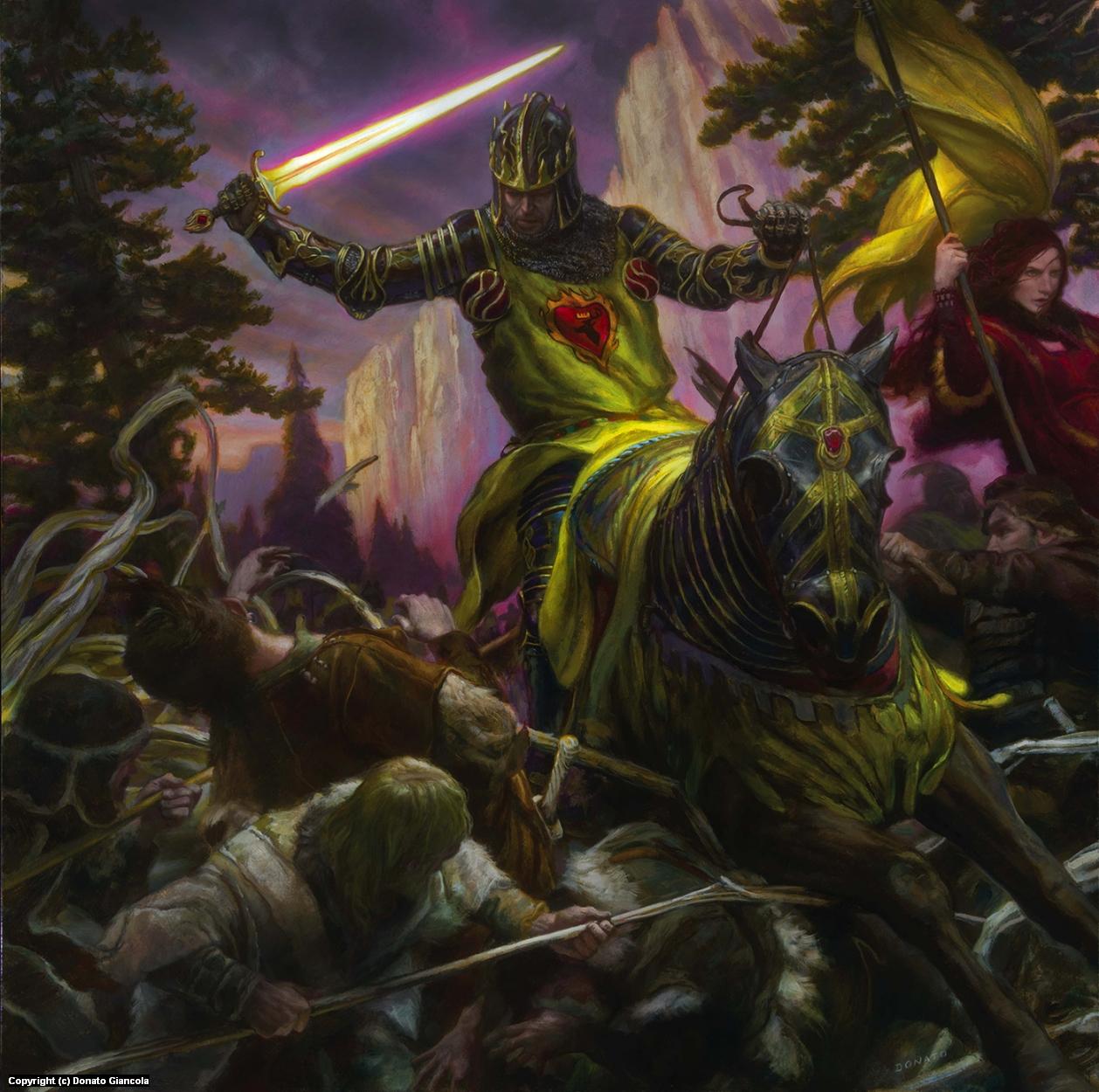Stannis Baratheon Artwork by Donato Giancola
