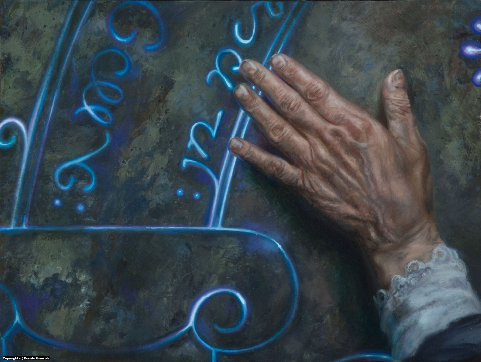 Doors of Moria Artwork by Donato Giancola