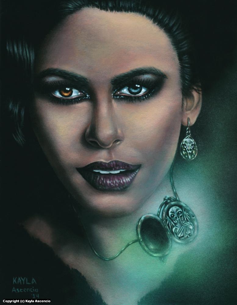 Concealment  Artwork by Kayla Ascencio