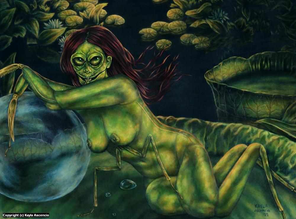 Mantis Artwork by Kayla Ascencio