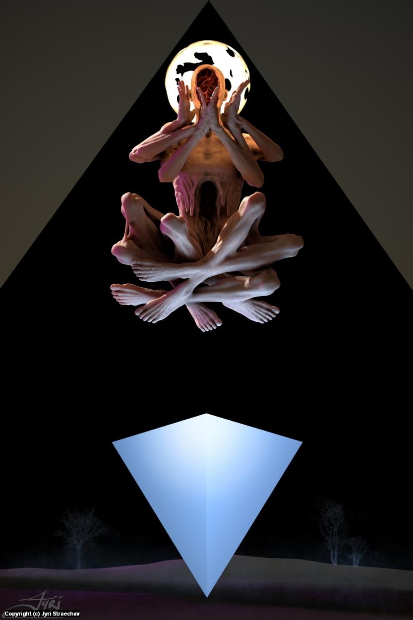 Ascetic Artwork by Jyri Straechav