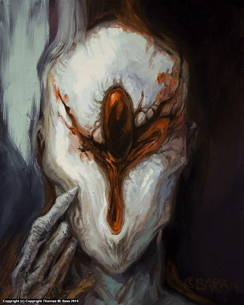 Bloodstone Alien by BAXA Artwork by Thomas Baxa