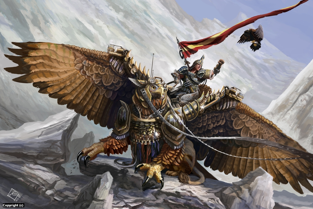 Hunter of the Winds Artwork by Alexander Gustafson