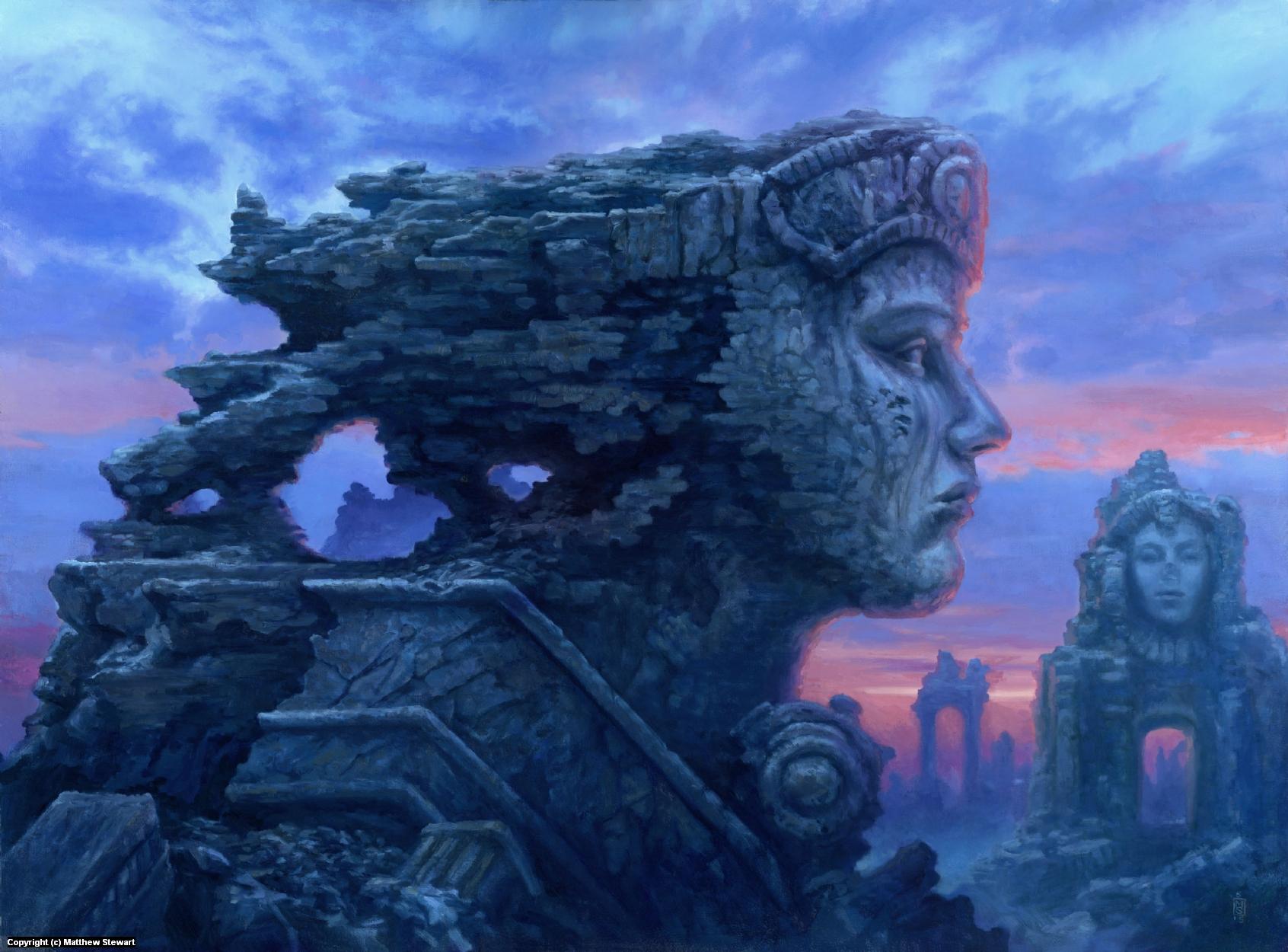 Ozymandias Artwork by Matthew Stewart