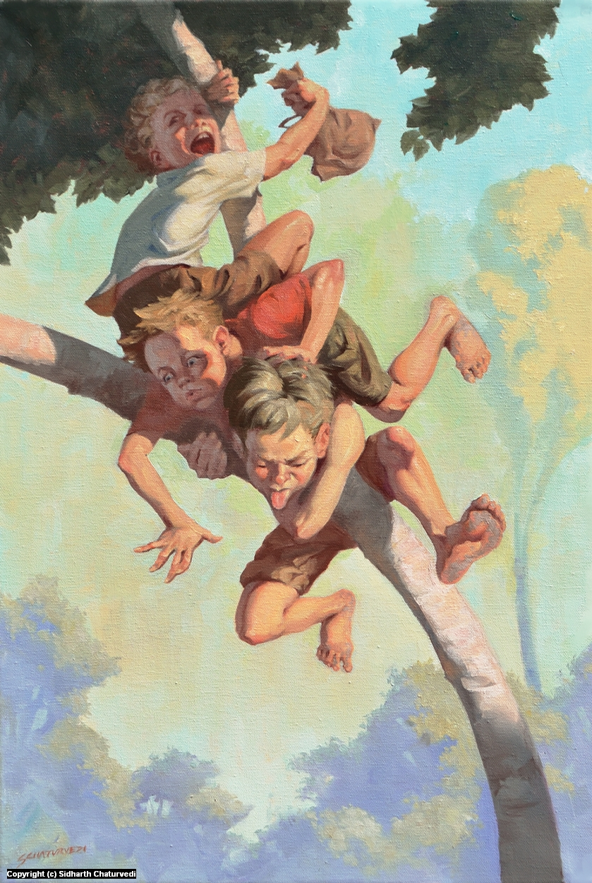 Damn Kids Artwork by Sidharth Chaturvedi