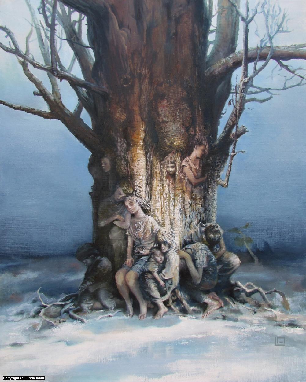 The Tree of Splintered Dreams Artwork by Linda Adair