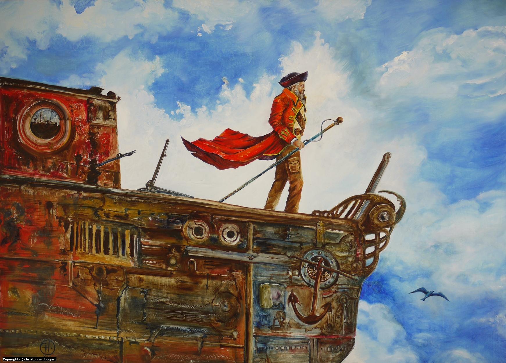 Capitaine Artwork by Christophe Dougnac