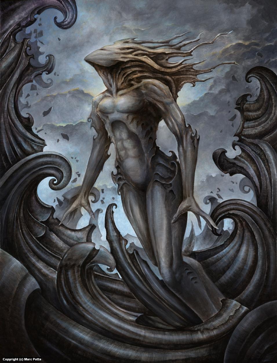 Dagon Artwork by Marc Potts