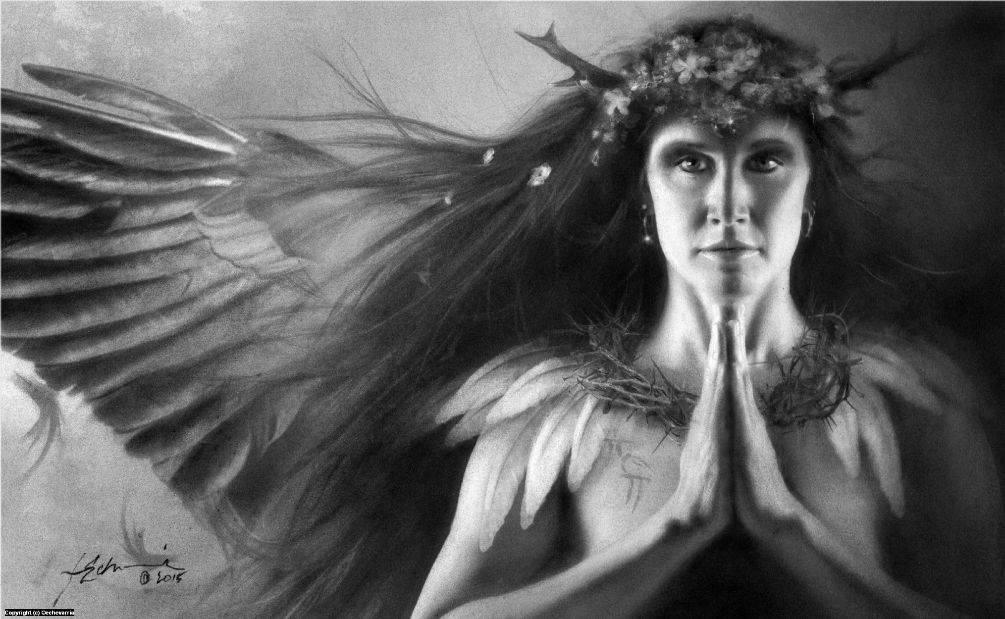 Shape Shifter • Druid High Priestess Artwork by Jeff Echevarria