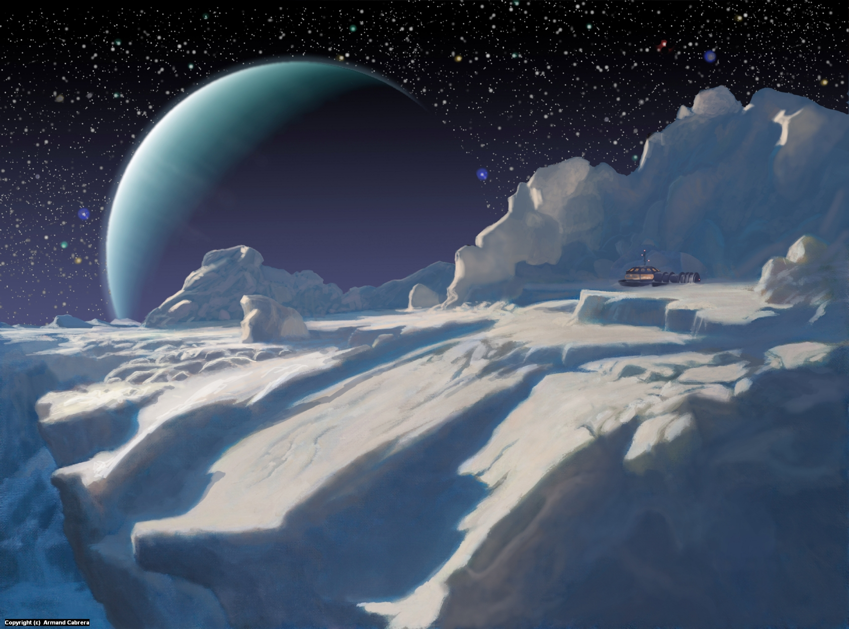 Ice Station Artwork by Armand Cabrera
