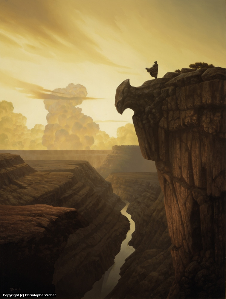 The Canyon Artwork by Christophe Vacher