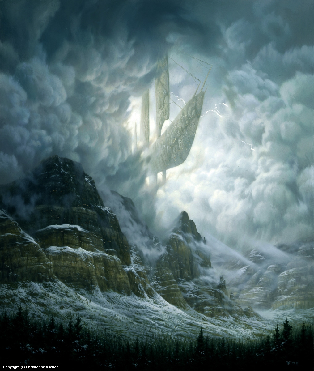 Stormbreakers Artwork by Christophe Vacher