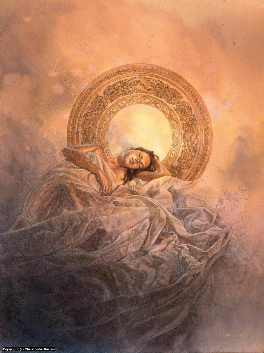 Resting Artwork by Christophe Vacher