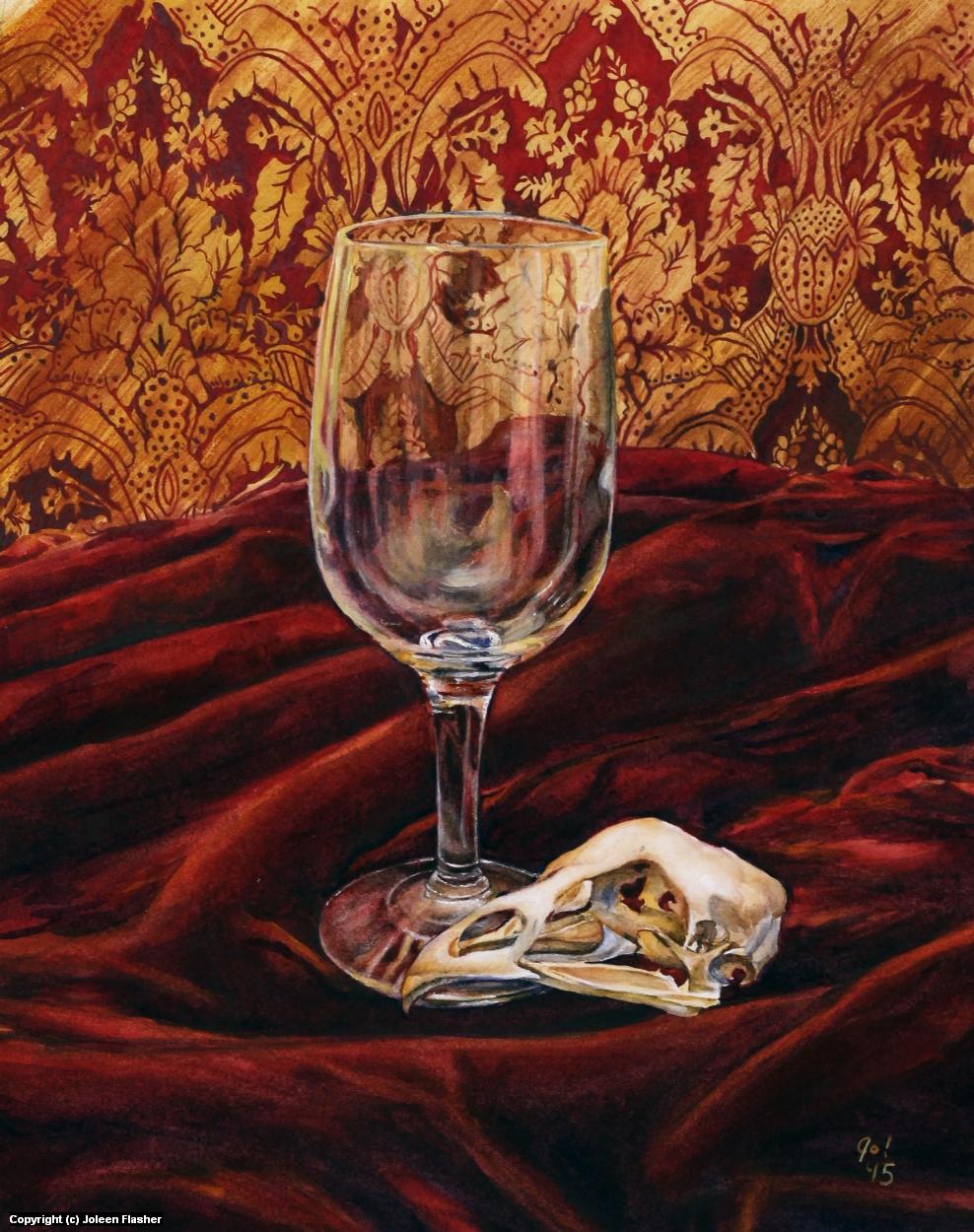 Glass & Bone Artwork by Joleen Flasher