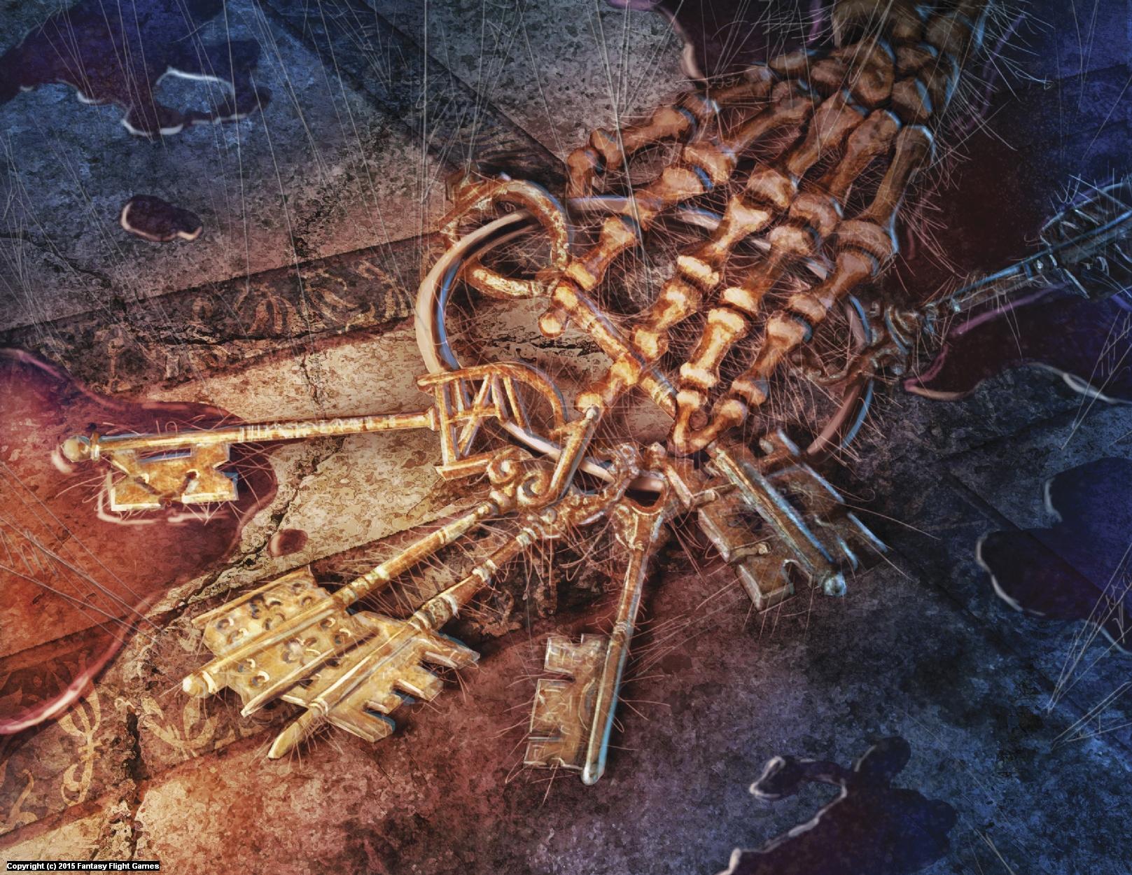 Key of Belegost Artwork by Lucas Durham