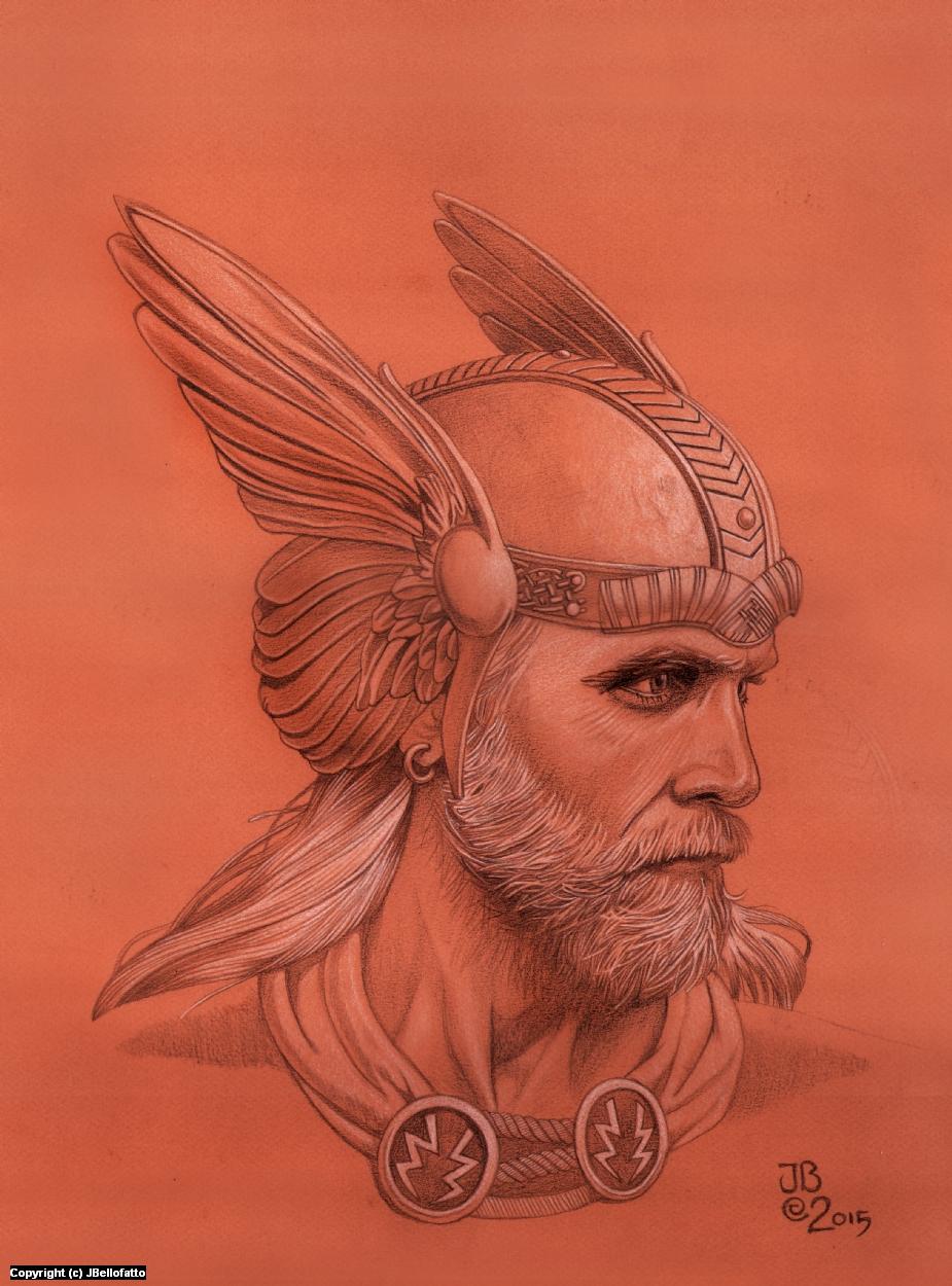 Thor Artwork by Joseph Bellofatto